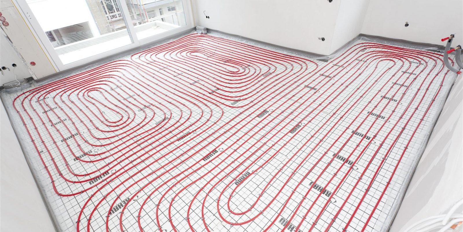 طراحی و نکات مهم در اجرای گرمایش از کف